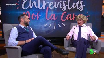 """Dani Mateo """"entrevista por la cara"""" a Aguirre: """"Ayuso es digna sucesora. Se apoya en todo, incluso en Vox para ser presidenta"""""""