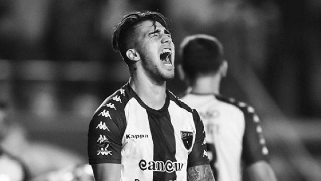 El futbolista Ezequiel Esperón