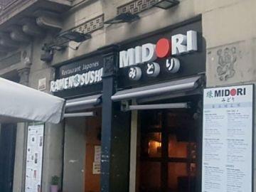 Restaurante Midori en Barcelona