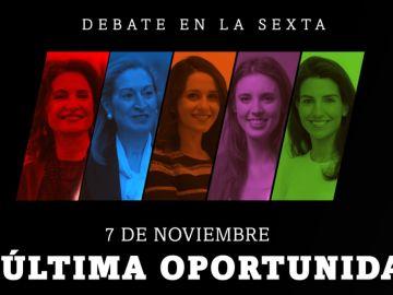 7N, el debate en laSexta: la última oportunidad