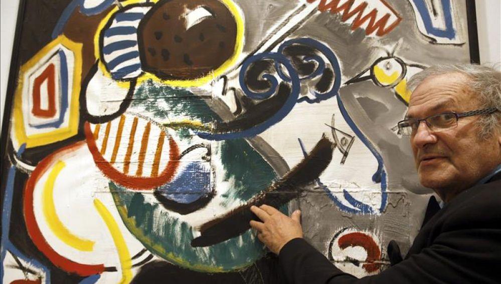 El pintor Labajjo Grandío