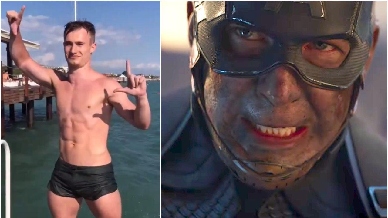 Jack Laugher imita la escena clave de 'Vengadores: Endgame'