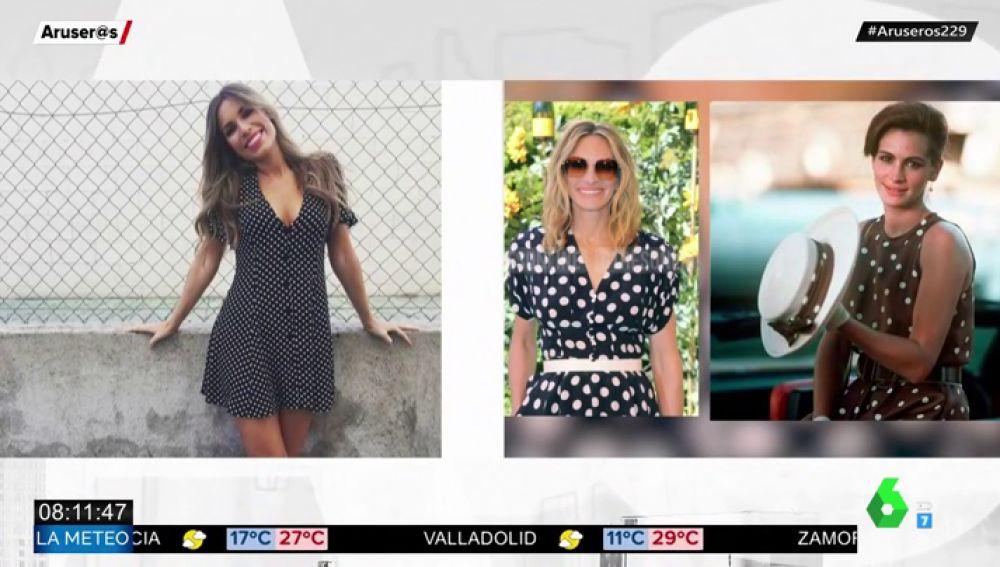 Paula del Fraile se 'convierte' en Julia Roberts con un vestido propio de Pretty Woman
