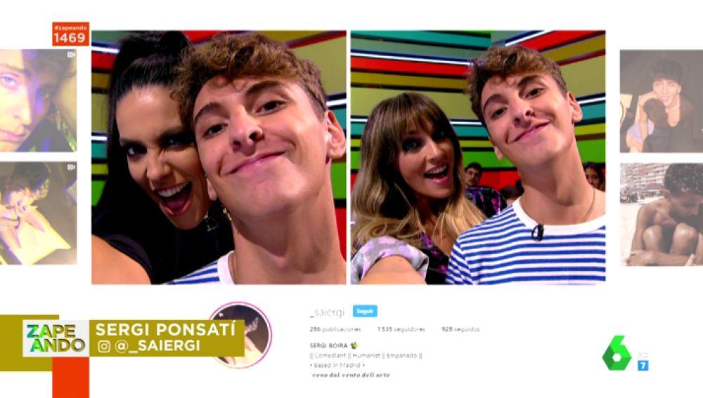 El duelo entre Lorena Castell y Anna Simon: ¿qué zapeadora conseguirá más 'likes' en su selfie con Sergi Ponsatí?