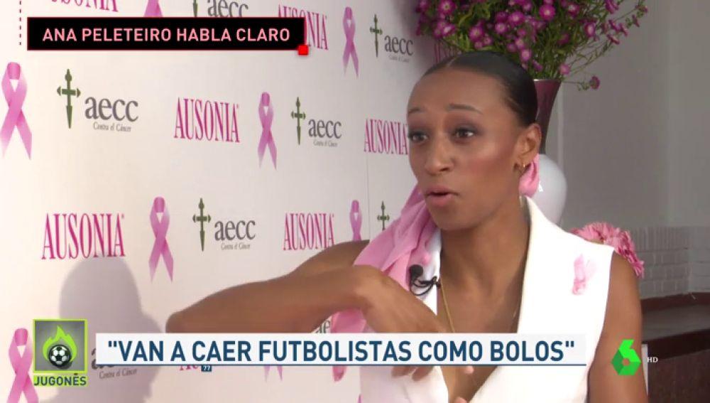 """Ana Peleteiro, en 'Jugones': """"Que den el Mundial a Doha es contradictorio"""""""