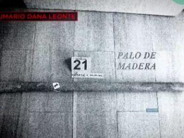 El palo de madera con el que Dana Leonte pudo ser golpeada antes de morir