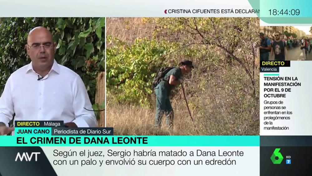"""Buscan el cuerpo de Dana Leonte en la periferia de Arenas: """"Han localizado varios restos óseos que se están analizando"""""""