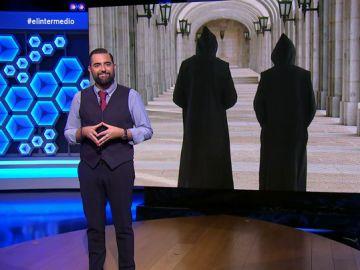 """Dani Mateo advierte al prior y a un monje del Valle de los Caídos: """"Lo que dice el Supremo va a misa"""""""