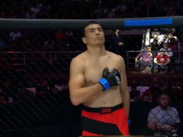 Bekzod Nurmatov, antes de disputar su último combate