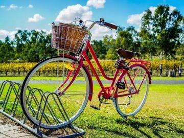 Bicicleta aparcada
