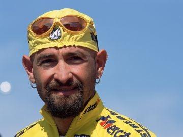 Marco Pantani, en una de sus últimas imágenes como ciclista.