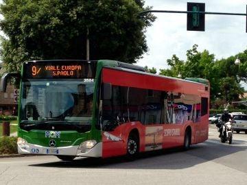 Imagen de archivo de un autobús italiano