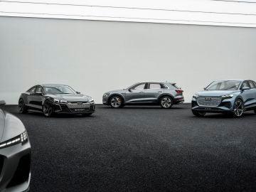 Gama de eléctricos Audi