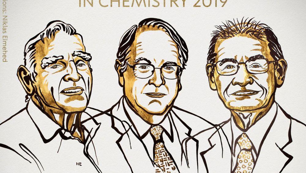 Goodenough, Whittingham y Yoshino ganan el Nobel de Química