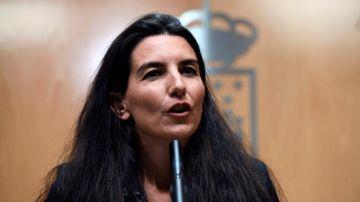La portavoz de Vox en la Asamblea de Madrid, Rocío Monasterio