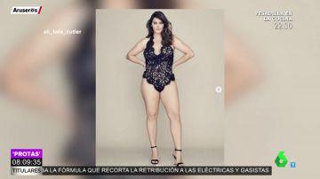 Ali Tate, la primera modelo de talla grande que ficha por Victoria's Secret