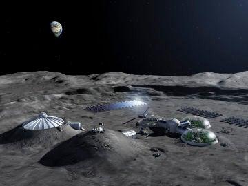 ¿Qué aspecto tendría una colonia lunar?
