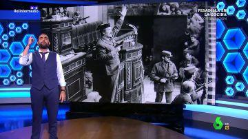"""Dani Mateo da 'un golpe de estado' para informar sobre la reaparición de Tejero: """"La exhumación de Franco ha despertado demasiadas pasiones"""""""