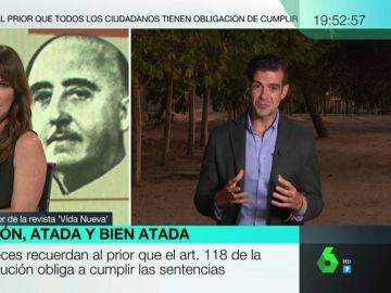 """¿Cuál es la postura de la iglesia frente a la exhumación de Franco?: """"No quiere presentarse como enemiga de la democracia"""""""
