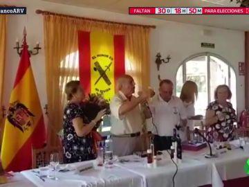Antonio Tejero reaparece en un acto