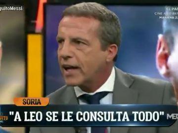 Cristóbal Soria desvela el jugador del Real Madrid del que Messi ha estado viendo vídeos