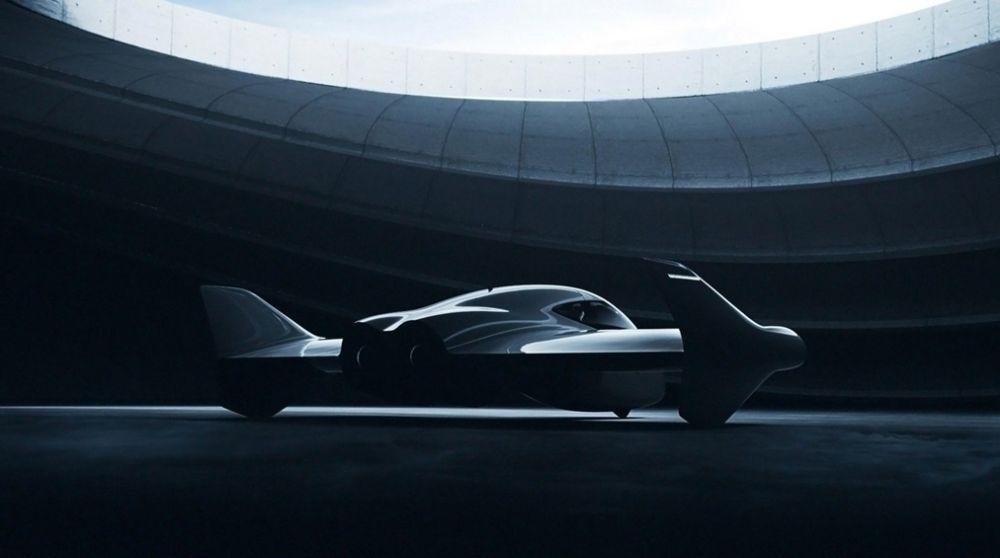 Prototipo Porsche volador