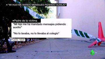 """Habla el padre del niño asesinado en El Ejido: """"Mi hijo me ha mandado mensajes pidiendo auxilio"""""""