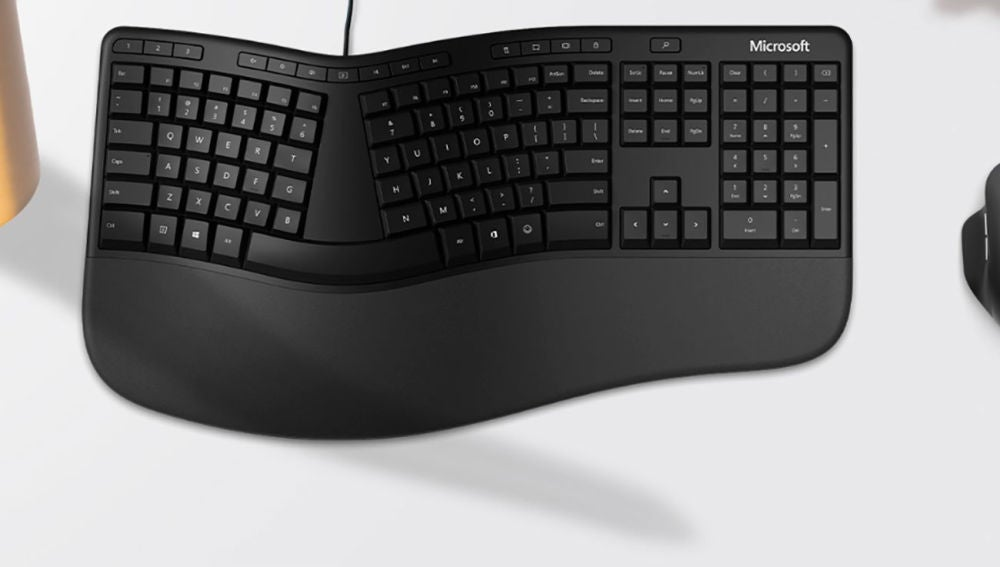 Nuevo teclado Microsoft ergonómico