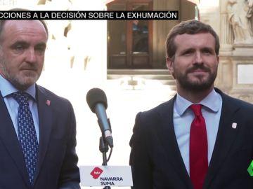 Entre silencios y evasivas: así valoran los líderes del PP y Ciudadanos la fecha de exhumación de Franco