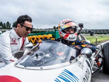 Max Verstappen, en el Honda RA272