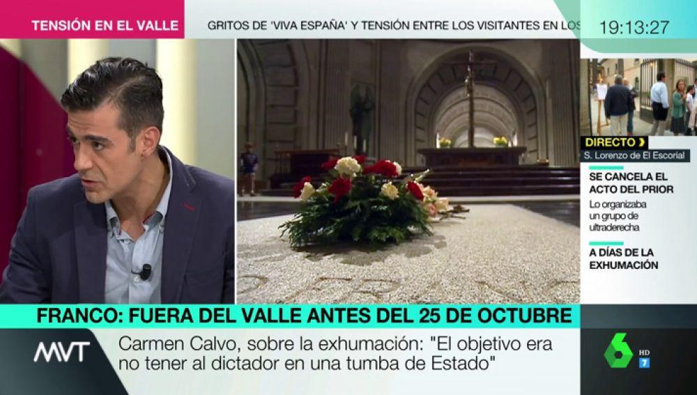 """José Beltrán: """"Hemos visto intentos de Carmen Calvo de presentar a la Iglesia como un enemigo a la democracia"""""""