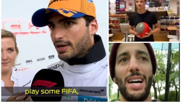 Día libre para los pilotos en la F1