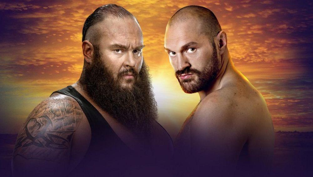 Braun Strowman contra Tyson Fury