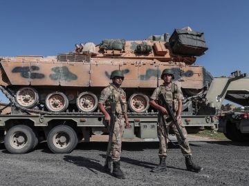 Imagen de archivos de militares turcos