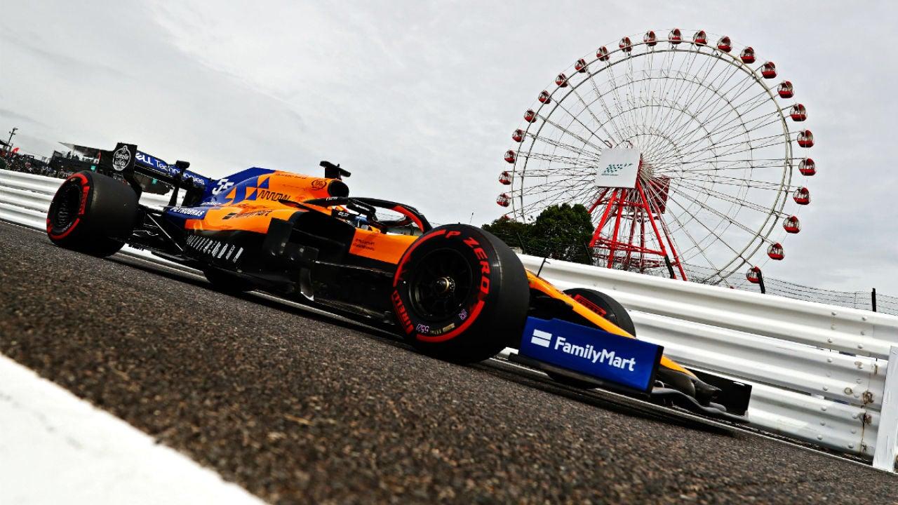 Carlos Sainz, en Japón
