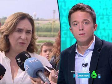 """Íñigo Errejón responde a Ada Colau: """"Hay mucha gente que está cansada, y en Cataluña el bloqueo es doble"""""""
