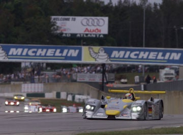 Audi R8 Numero 1 Petit Le Mans 2001