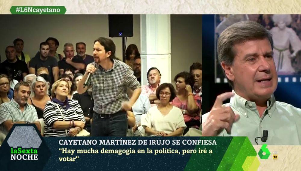 """Cayetano Martínez de Irujo apoya la convocatoria electoral de Pedro Sánchez: """"Tener el comunismo dentro del Gobierno es destrozar a España"""""""