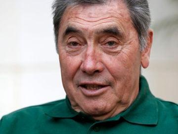 El legendario ciclista Eddy Merckx