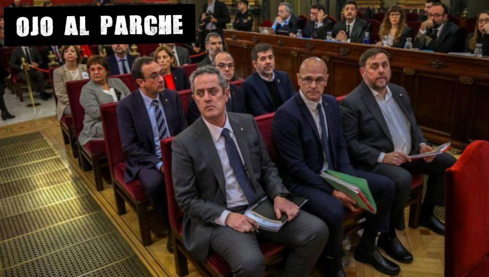 Un momento durante el juicio de procés