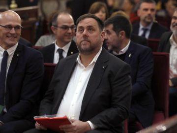 El exvicepresidente del Govern, Oriol Junqueras