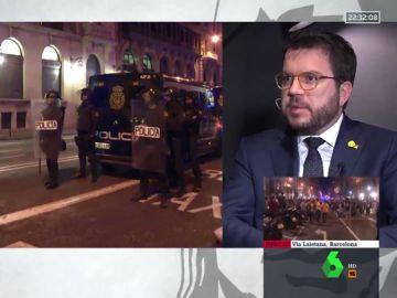 """Pere Aragonès: """"No se puede acabar un conflicto político con un resolución penal"""""""