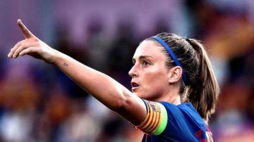 Alexia Putellas, jugadora del FC Barcelona
