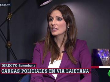 """Lorena Roldán: """"La sentencia no es una solución a lo que pasa en Cataluña, pero hace justicia"""""""