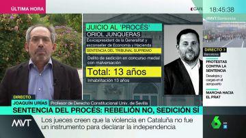 """Joaquín Urías: """"La sentencia no castiga ideas, castiga desproporcionadamente algo que es un delito"""""""
