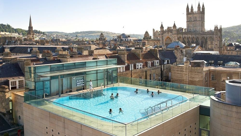 Vista panorámica de Bath