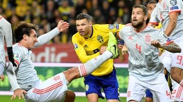 Berg, en el gol de Suecia contra España