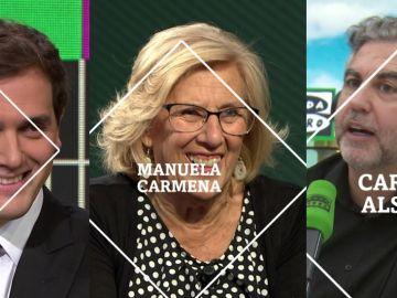 Rivera, Carmena y Alsina