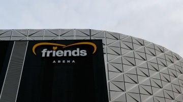 El estadio 'Friends Arena'