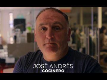 """El chef José Andrés: """"Trump está en contra de todo lo que a mí me gusta"""""""